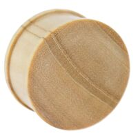 Crocodile Concave Wood Plug