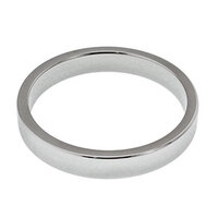 Surgical Steel Flat Body Cock Ring