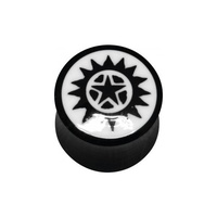 Star Bone Inlay Plug