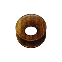 Concave Hollow Teak Wood Plug