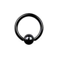 Titanium Blackline® Ball Closure Rings