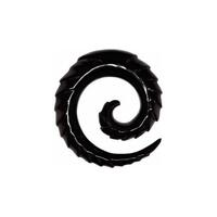 Carved Buffalo Spiral
