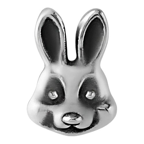 Steel Cast Captive Bead : Rabbit