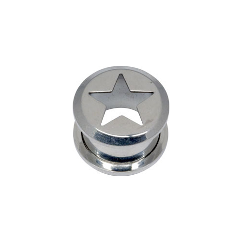 Steel Basicline® Cut-Out Star Tunnel : 8mm