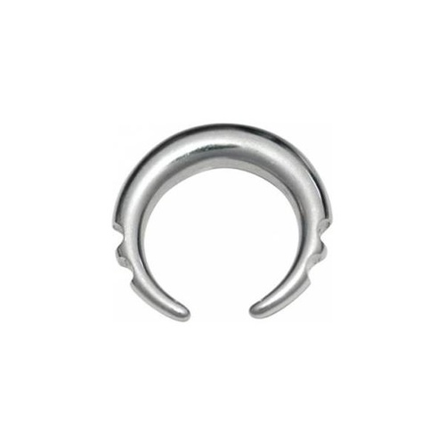 Steel Basicline® Tribal Stretching Crescent : 8mm